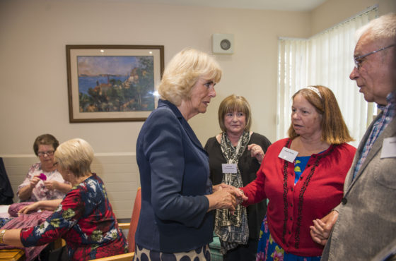 Duchess of Cornwall Visits the Clockhouse