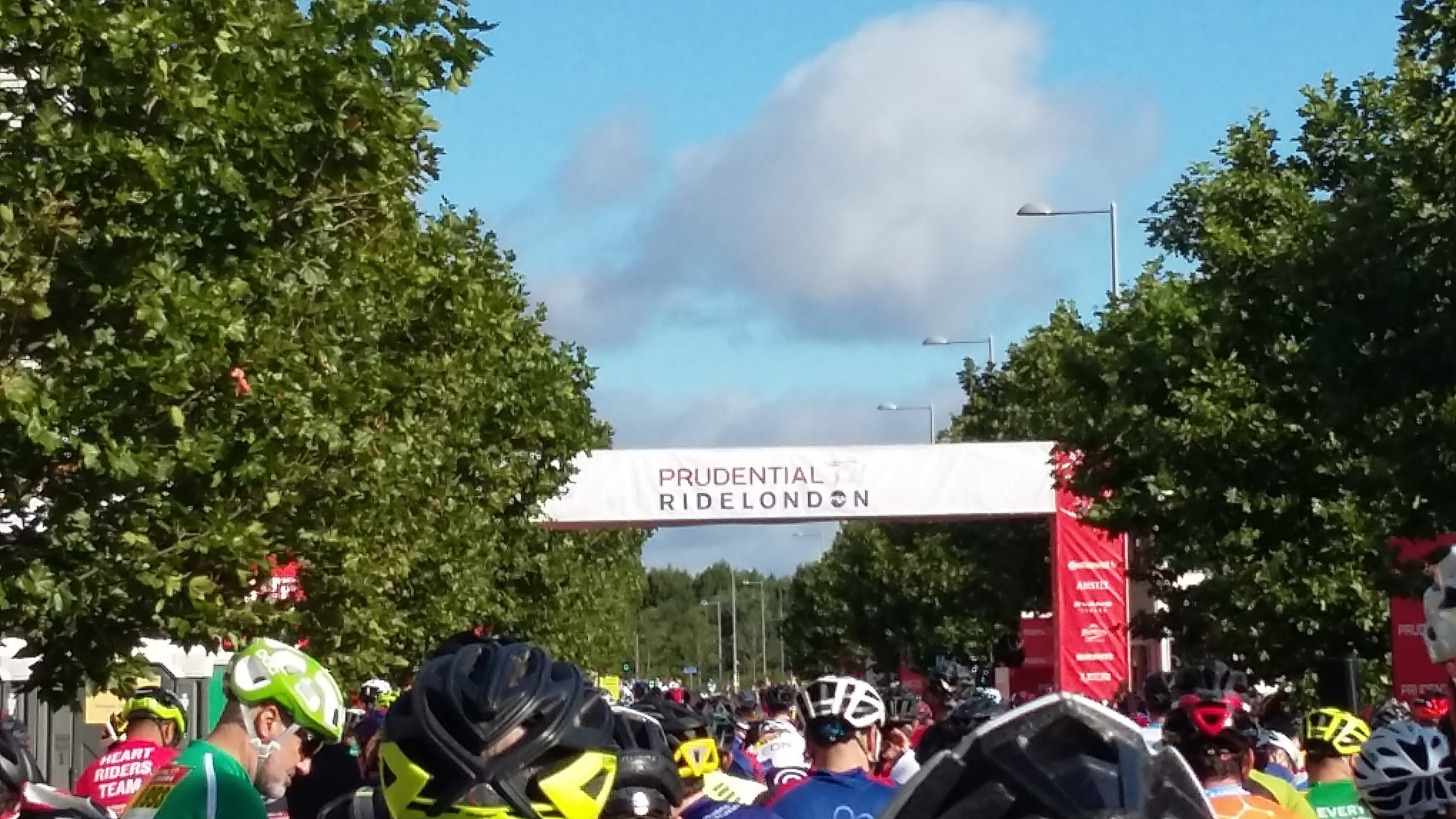 Our two heroes of the Prudential Ride London! – Daybreak