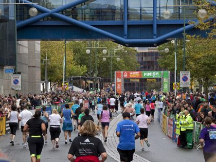 Georgina takes on the challenge of the Birmingham Marathon