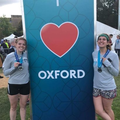 Daybreak's runners great performance in the Oxford Half Marathon