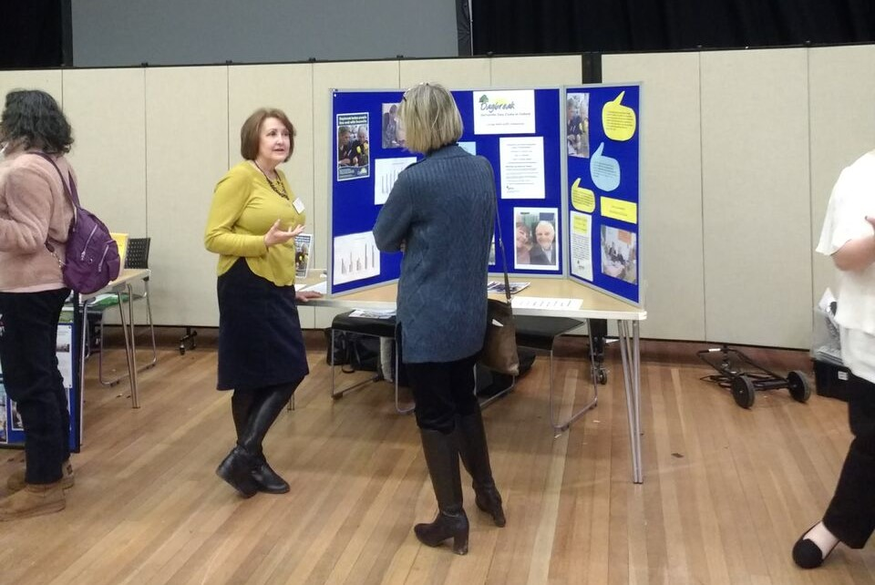 Daybreak attends ARUK event at John Radcliffe Hospital