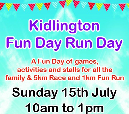 Kidlington Fun Day Run Day