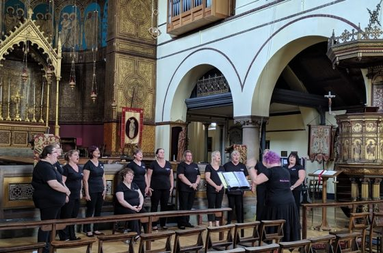 RAF Brize Norton Military Wives Choir Concert