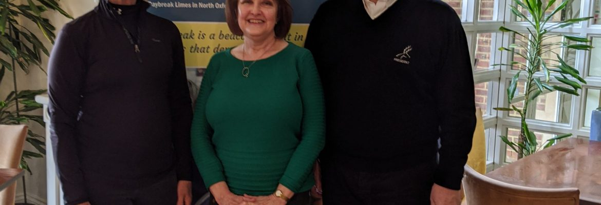 Studley Wood Golf Club Ladies Captain Chooses Daybreak